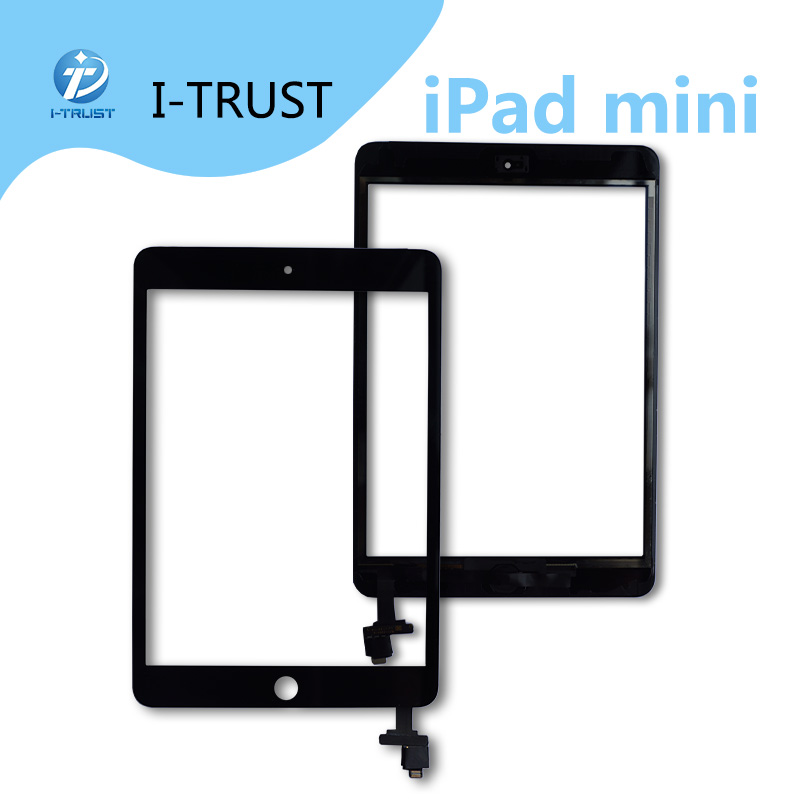 Hot Sale Touch Glass Screen Digitizer Front assembly for iPad Mini 1 2 3 4 digitizer