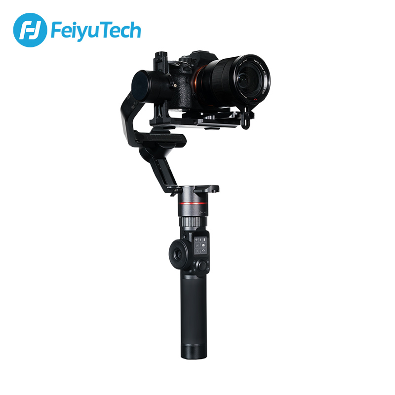 FeiyuTech Feiyu AK2000 3-Axis Camera Stabilizer Gimbal with Focus Ring for Sony Canon 5D Panasonic GH5 Nikon 5D 2.8 kg Payload feiyutech feiyu ak2000 3 axis handheld camera stabilizer 2 8kg loading gimbal for sony canon 5d 6d mark panasonic gh5 nikon d850
