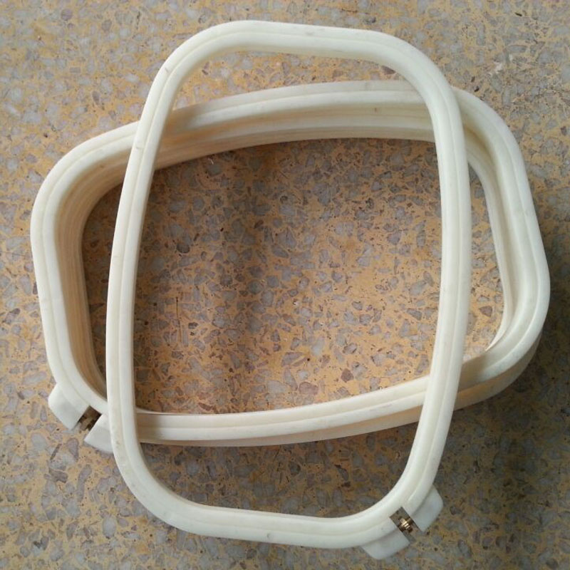 18*26cm Rectangle Embroidery Hoop Small Plastic Hoops Hand