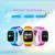 2016 posicionamento wifi smart watch crianças sos chamada location finder Monitor de localizador Rastreador para o Miúdo GPS Anti Perdido Bebê Q50 Q60
