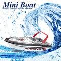 Micro Rádio RC Controle Remoto Super Mini Speed Boat Dupla Motor Elétrico de Brinquedo de Presente