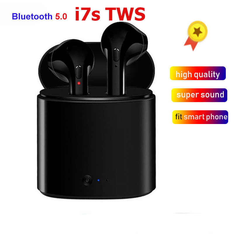 i7s tws Mini Bluetooth Earphone Wireless Earphones With Charge Box with mic For iphone huawei honor xiaomi redmi ear buds