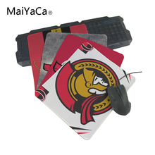 MaiYaCa Hot Selling Customized Free Ottawa Senators Mouse Pad Gaming Rectangle Mousemat for PC Compu