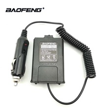 Buy 1/2/5pcs Baofeng UV-5R Walkie Talkie Battery Eliminator Car Charger Adapter for UV 5R UV-5RE F8+ DMR Ham HF CB Car Radio UV5R directly from merchant!