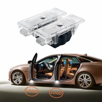 2Pcs No Drilling Car Styling LED Ghost Shadow Projector Laser Courtesy Logo Light For BMW E39