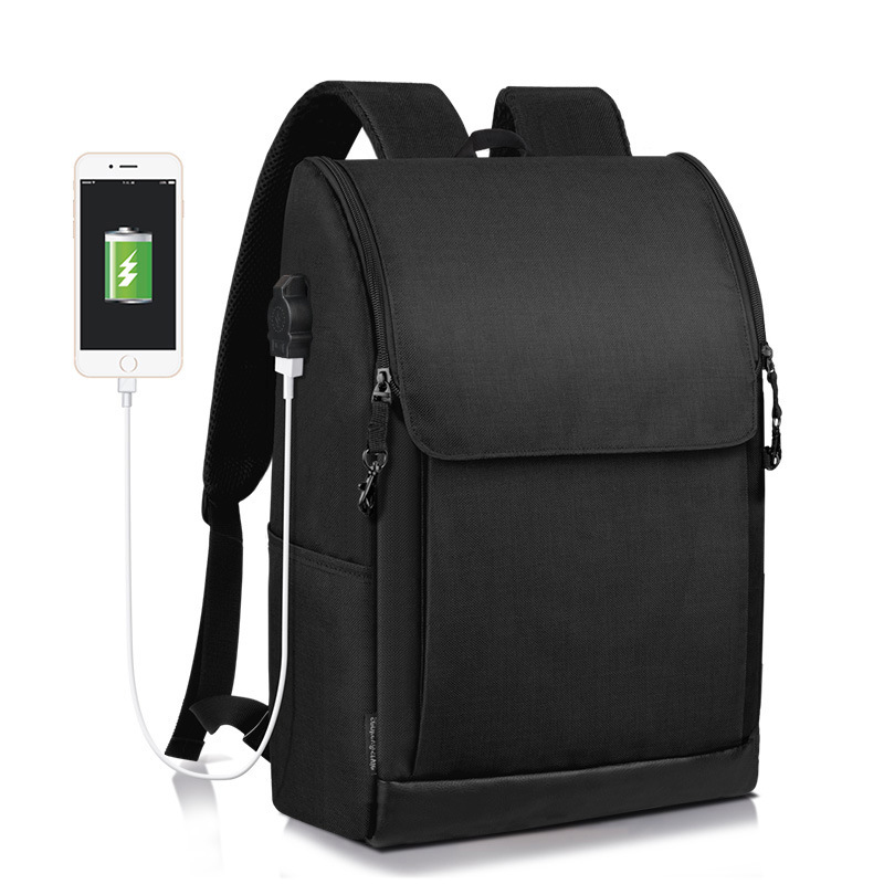 Men Backpack Business Solid Waterproof Bagpack Casual Student Schoolbag Fashion Women Large Capacity Laptop Bag School Bag Pack canvas splicing backpack men retro trendy casual laptop bag women durable casual school bag stylish schoolbag