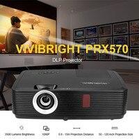 VIVIBRIGHT PRX570 DLP Projector 3500 Lumens 3D Home Theater 1280 X 800Pixels 3D Function 1080P Projectors