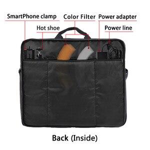 Image 4 - Fosoto высокое качество соединенный мешок оранжевый чехол переноски для штатив подставка и все аксессуары в пределах 18'' лампа