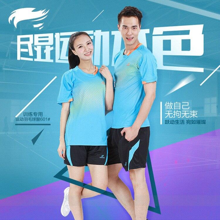 Vysoce kvalitní běžecké sportovní oblečení badmintonový oblek pro milovníky dámského a pánského sportovního sportu stolní tenis Kit