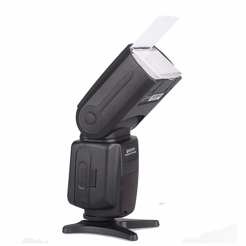 Triopo TR-586EX Flash inalámbrico Flash TTL Flash Speedlite para Nikon Canon EOS 550D 60D 6D 5D Mark II como YONGNUO YN-568EX II - 6