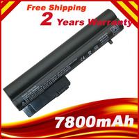 7800mAh Laptop Battery For HP 2533t Mobile Thin Client EliteBook 2540p 2530p For COMPAQ 2400 nc2400 nc2410 2510p KU529AA RW556AA