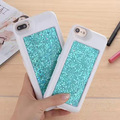 Glitter Bling Cover Phone case For iphone7 7plus 6 6s 6plus Power Case Backup Battery Case Portable Charger Case