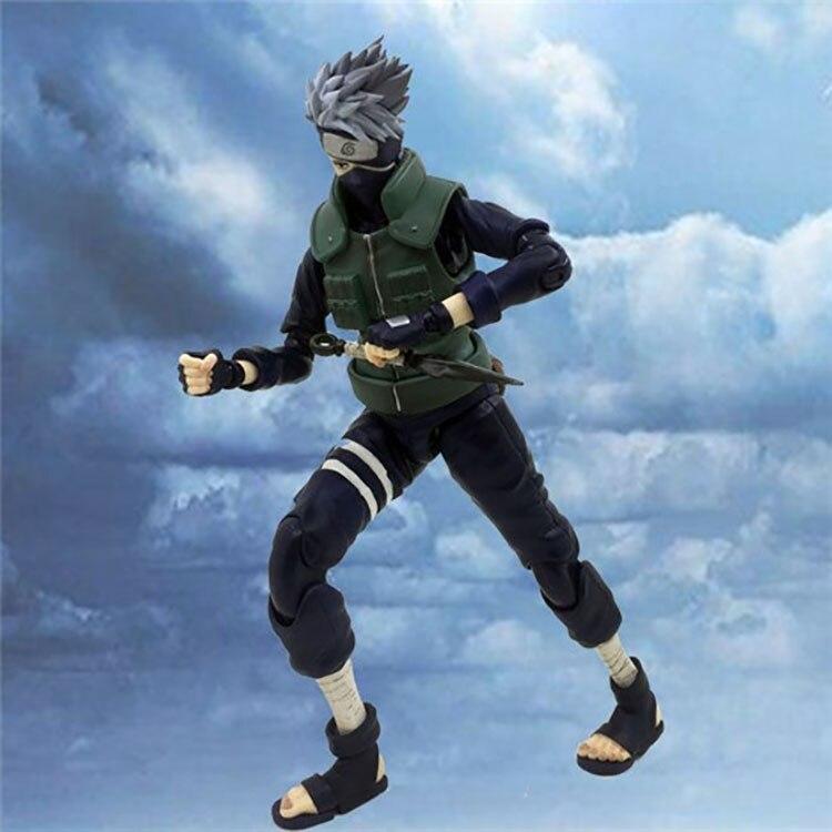 Anime NARUTO Hatake Kakashi VAH DX Joints Moveable BJD Action Figure Model Toys
