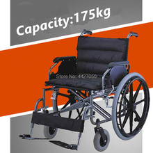 Big seat width big capacity 175kg  best price good quality manual wheelchair  for diaable and elder