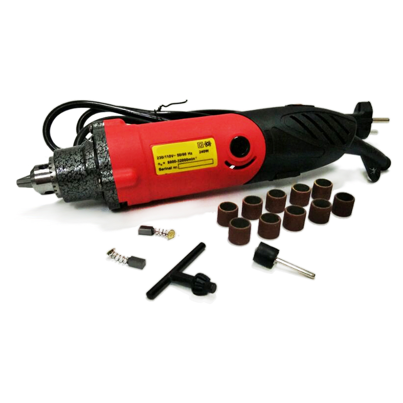 32000RPM 240W Mini Drill Electric Grinder Die Grinder More Power Full Strong Electric Drill Stone Ceramic Metal Abrasive Tools variable die grinder ceramic metal abrasive tools micro electric hand drill mini engraver with polishing tool electric drill