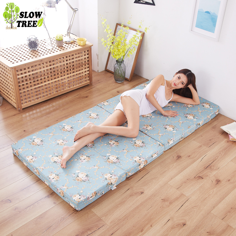 Slow Forest Multi Function Folding Sponge Mattress Tatami Mat 8cm Thickness Student Dormitory Bed Mat