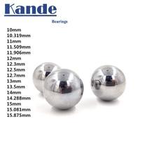 Высокое качество 10-15 GCR15 твердый шар высокой точности G10 10 11 12 13 14 15 мм 1 шт. твердость подшипника мяч, испытание на удар. Без магнита