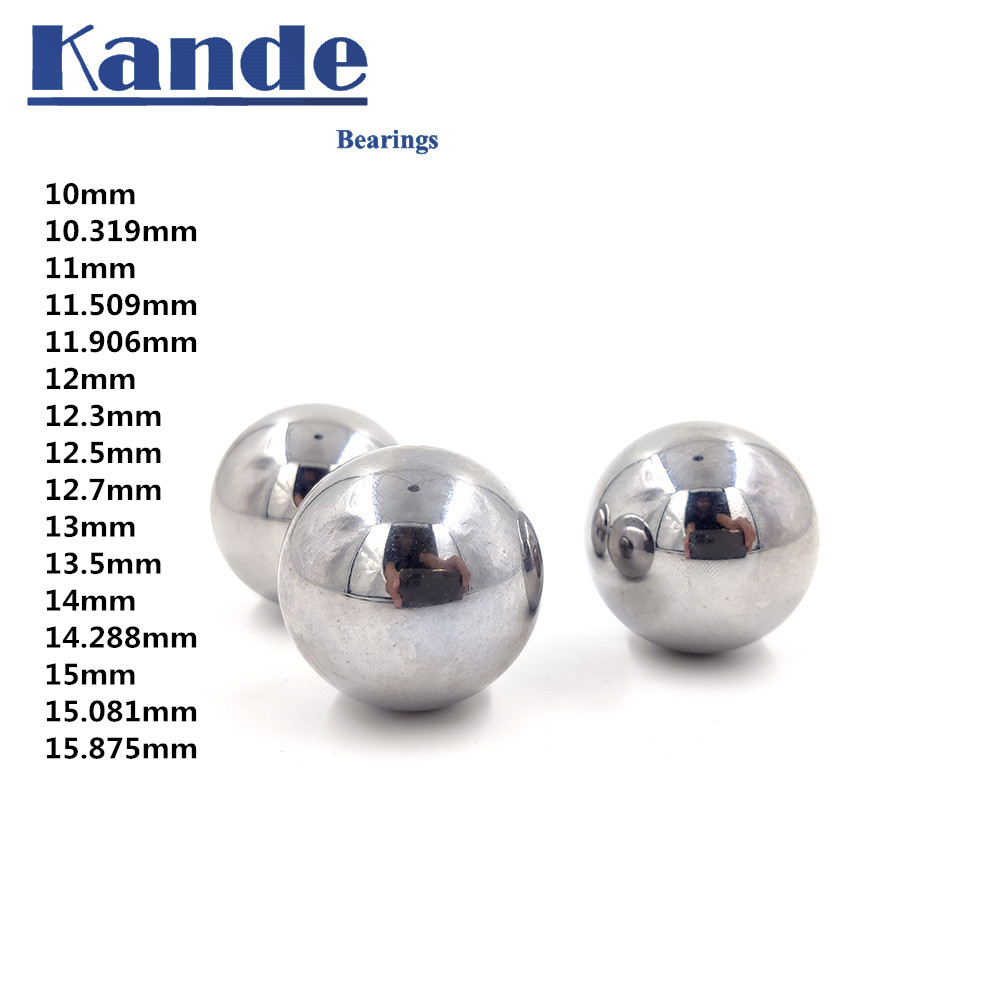 High Quality 10-15 GCR15 Solid Ball High Precision G10 10 11 12 13 14 15 Mm 1PC Hardness Bearing Ball  ,impact Test .No Magnet!