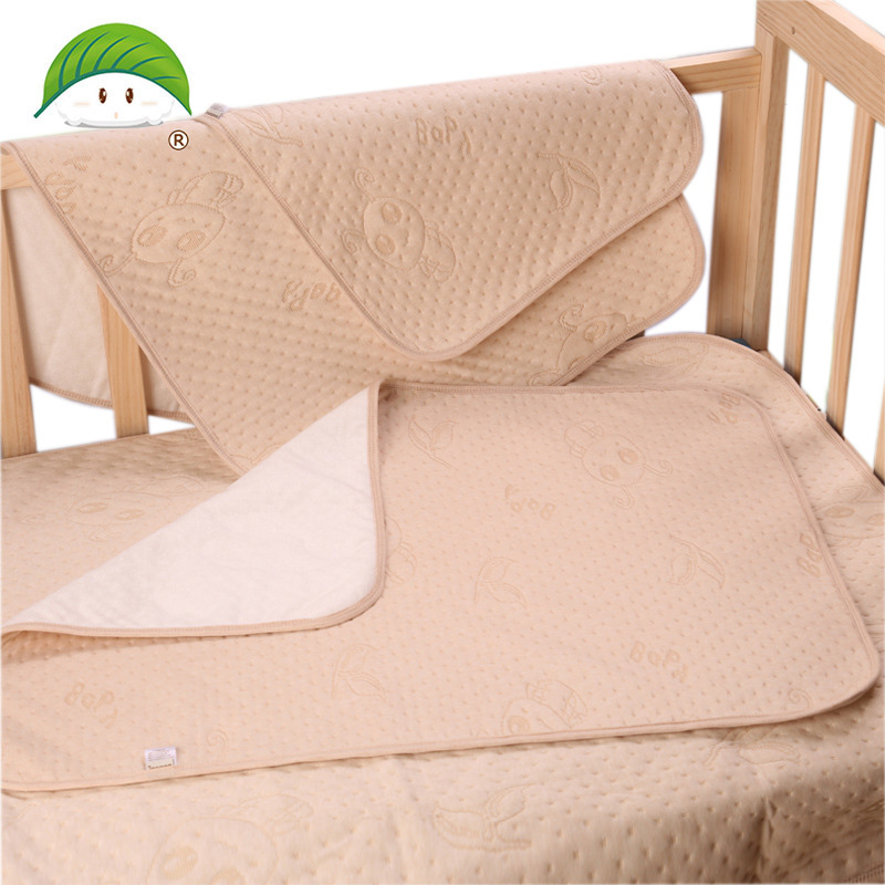 2019 Baby Diapers Mattress Diapers For Newborns Printing Pattern Linens Waterproof Sheet Four Cotton Changing Mat 14-184
