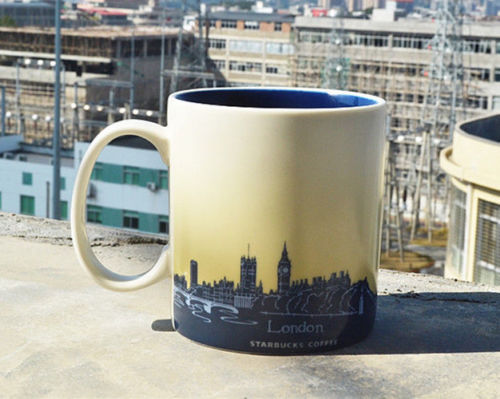 16oz Coffee Mug Global Idol City London Collector Series Mugs