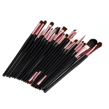 20 Pcs Makeup Brushes Set Powder Foundation Eyeshadow Eyeliner Lip Cosmetic Brushes