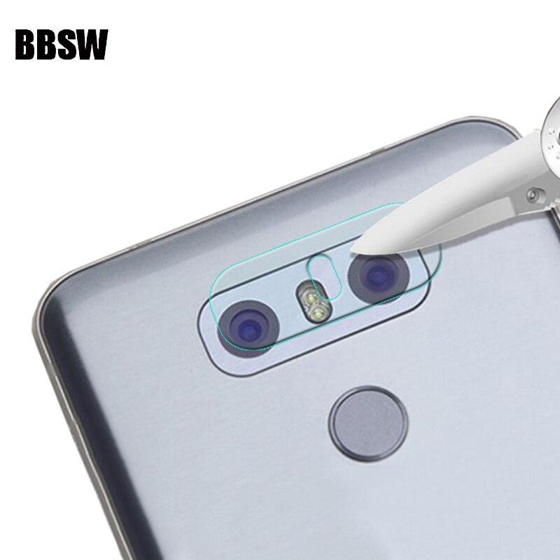 Rear Camera Lens Soft Transparent Tempered Glass For LG Q60 G8 G7 G6 G5 V10 20 30 V40 V50 ThinQ Stylo5 Back Camera Lens Film