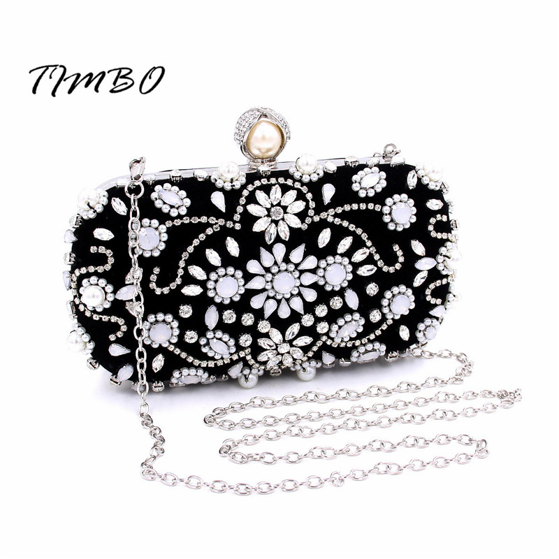 ФОТО Fashion trends  clutch banquet women 's handbag clutch diamond rhinestone bag diamond small black dress bags  messenger bag