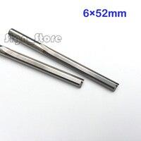 2pcs Double Flute Straight Endmill Tool CNC Router Bits FOAM MDF PVC WOOD 6 52mm