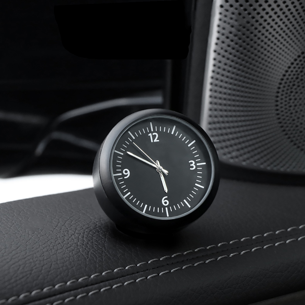 Luminous Car Clock Automobiles Ornament Auto Quartz Watch Automotive Internal Dashboard Time Display Clock In Car Accessories