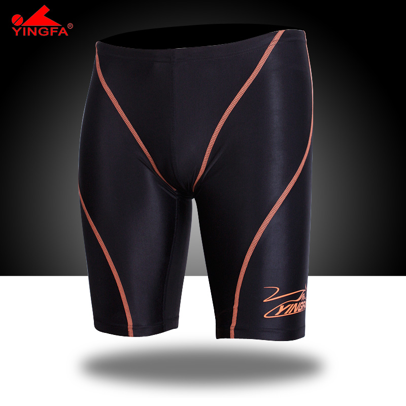 53317662b7 Yinfa FINA Men Swimsuit Competition Boys Swimwear Briefs Mens Swimming  Trunks For Bathing Swim Shorts Sharkskin Swimsuit-in Body Suits from Sports  ...