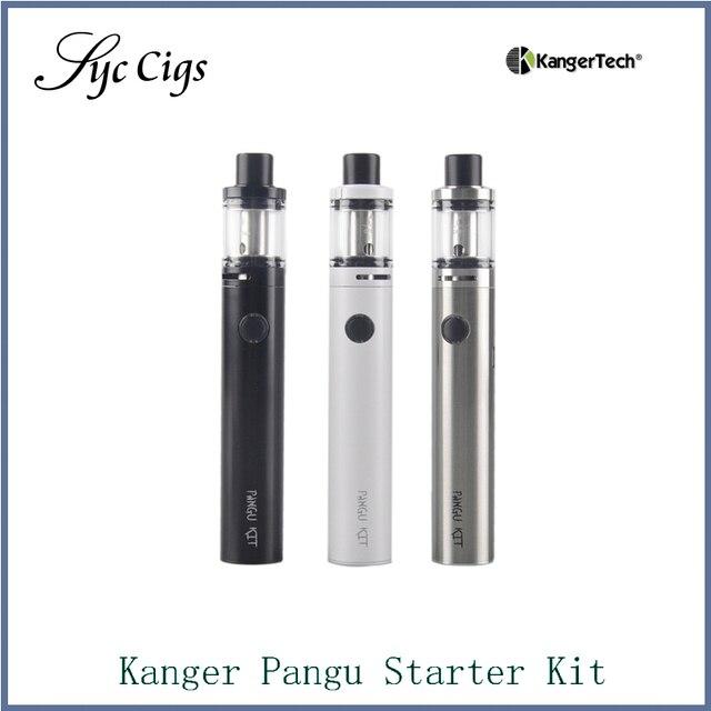 100% Оригинал Kanger Pangu Starter Kit 2500 мАч Bulit в Батарее с PGOCC Катушки Kangertech Все В Одном Жидкостью Vape Пера комплект