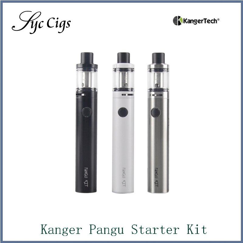100% original Kanger Pangu-startpaket 2500 mAh Bulit i batteri med PGOCC-rullar Kangertech allt i en Vape-penningssats