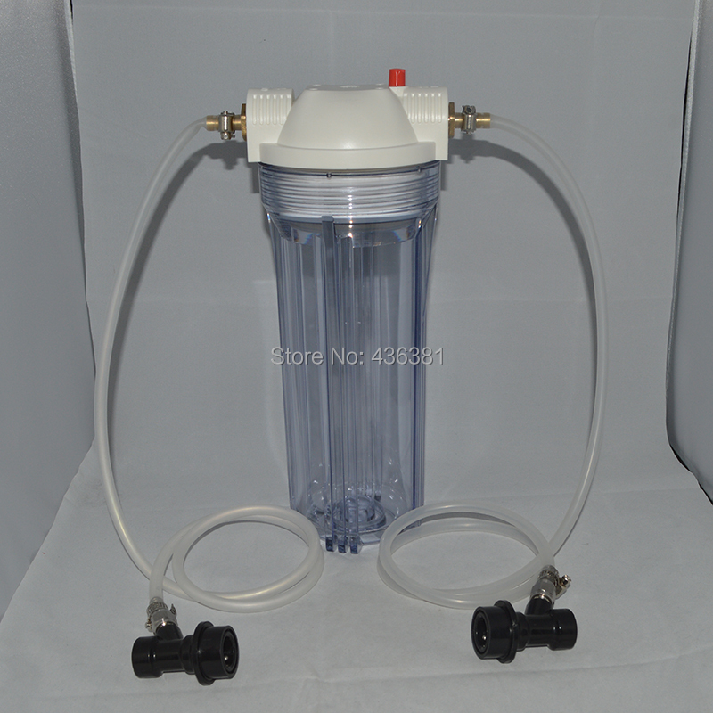 10 Beer Filter Housing with 30 lengths of tubing and liquid ball lock fittings beer brewing equipments retail and wholesale10 Beer Filter Housing with 30 lengths of tubing and liquid ball lock fittings beer brewing equipments retail and wholesale