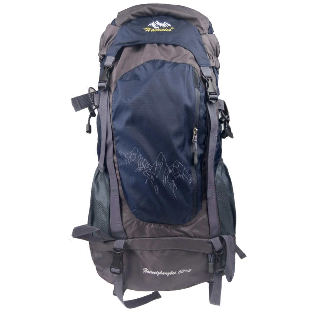 60L Large Outdoor Backpack Unisex Travel Climbing ...