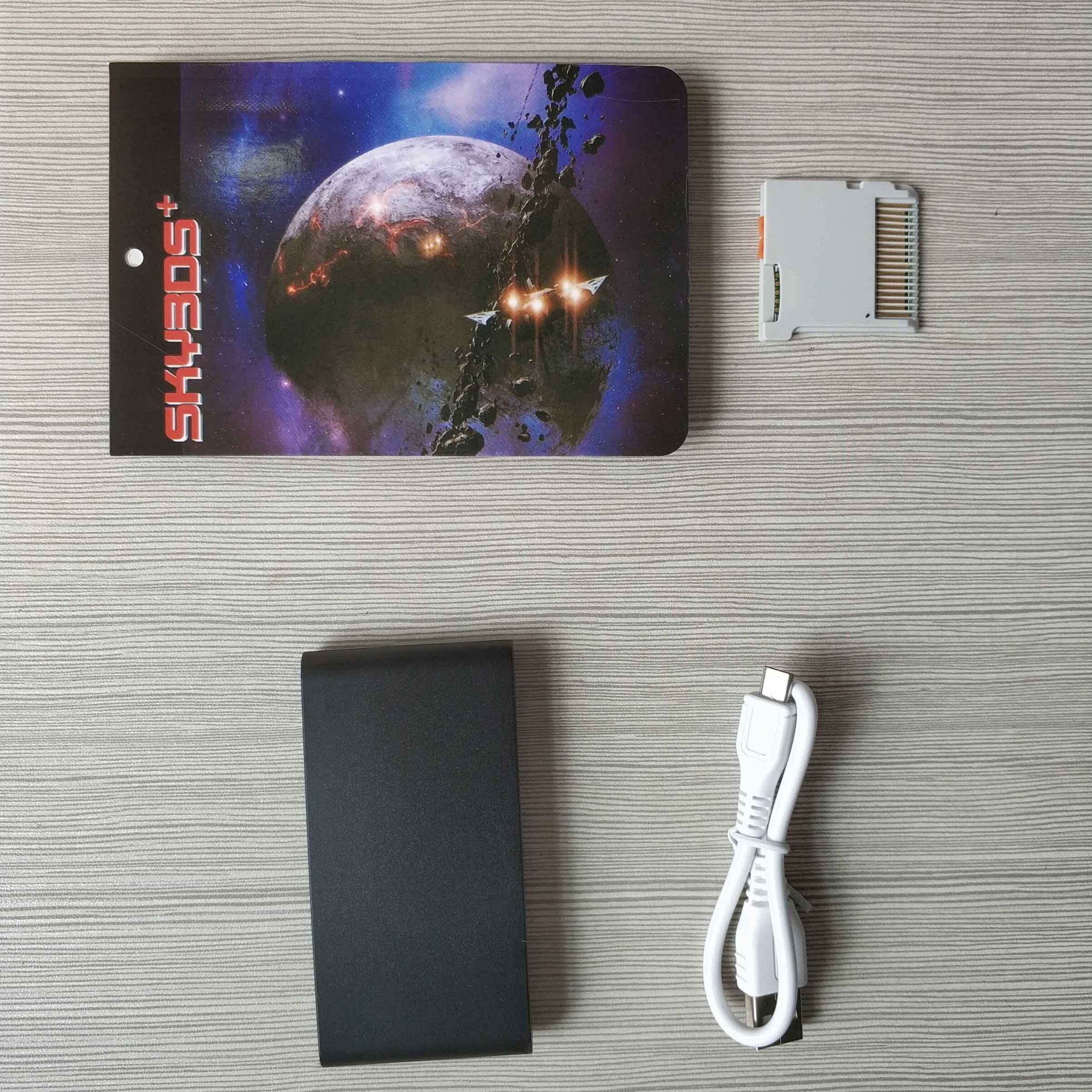 ABS 3DS Card with Adapter Special for SkyDock Sky3DS + V140 with Extract  Private File Function Dump DS Rom File Hack