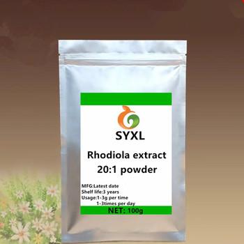 Ekstrakt z Rhodiola Rosea w proszku bezpłatny transport tanie i dobre opinie Jedna jednostka CN (pochodzenie) Brokat 100g-1000g Rhodiola Rosea Extract powder BODY 12345