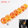 RARE Gear SHIFT KNOB DRAGONBALL Z DRAGON BALL amber dragon M10X1.5 Car Shift Knobs with screw nut