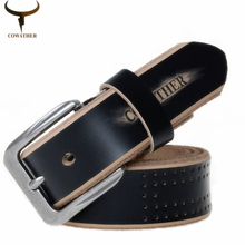 High Quality Genuine Leather Luxury Pin Buckle Belts For Men. Available Colors – Black, Coffee, Brown
