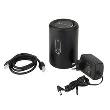 Windows 10 Wi-Fi мини-ПК хоста 32 г памяти Bay Trail CR 2.4 г WI-FI со встроенным микрофоном Камера основной Хост ЕС Plug черный оптовая продажа