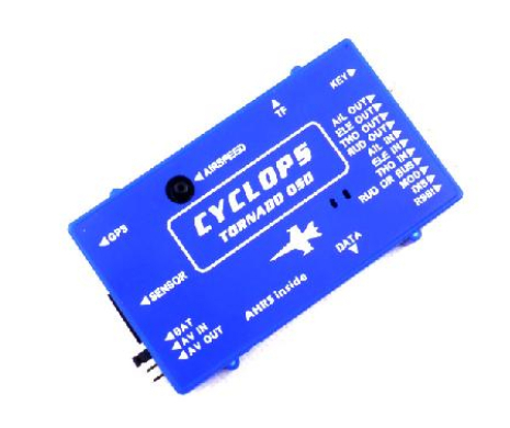 Free Shipping CYCLOPS TORNADO OSD System W/ GPS | V1.03 with 3D Flying / Airspeed Sensor for RC Airplane