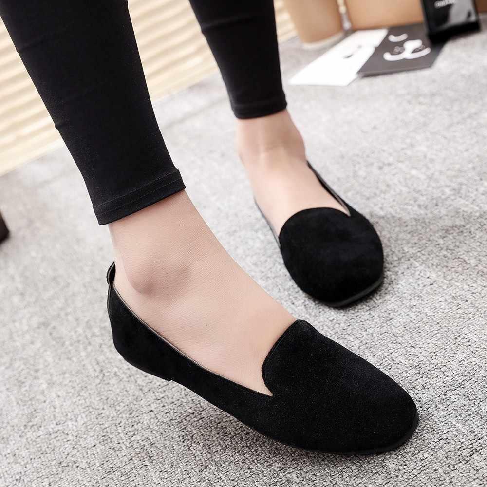 Vrouwen Dames Slip Op Platte Ronde Neus Ondiepe Schoenen Sandalen Casual Schoenen schoenen vrouw sandalen vrouwen strass kettingen platte
