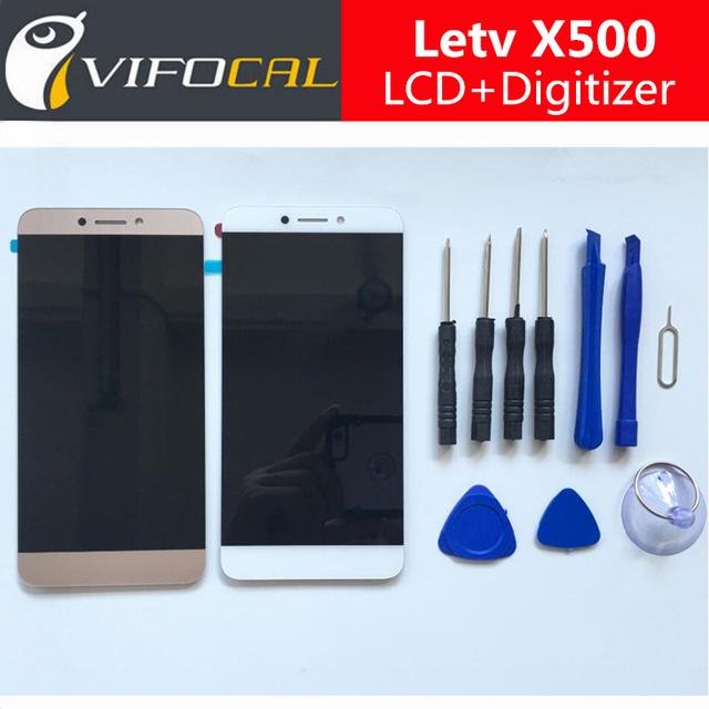 Letv X500 LCD Display + Touch Screen 100% Novo Acessórios de Substituição do Conjunto Digitador Para X501 Letv Le 1 S Telefone