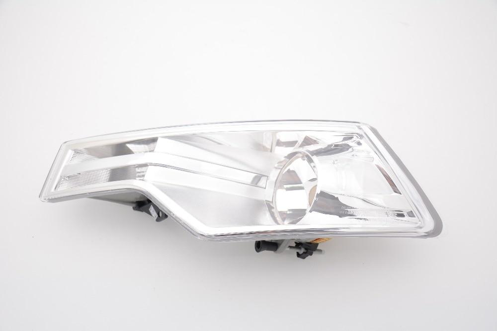 1Pcs Left LH Front Bumper Fog Light Lamp Without Bulb For Citroen C5 2008-2015 1 pair lh