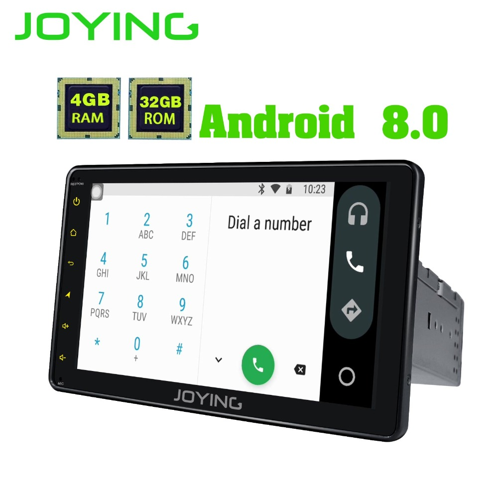 8 Single 1 Din Head Unit 4GB RAM Multimedia Player Universal Android 8 0 font b