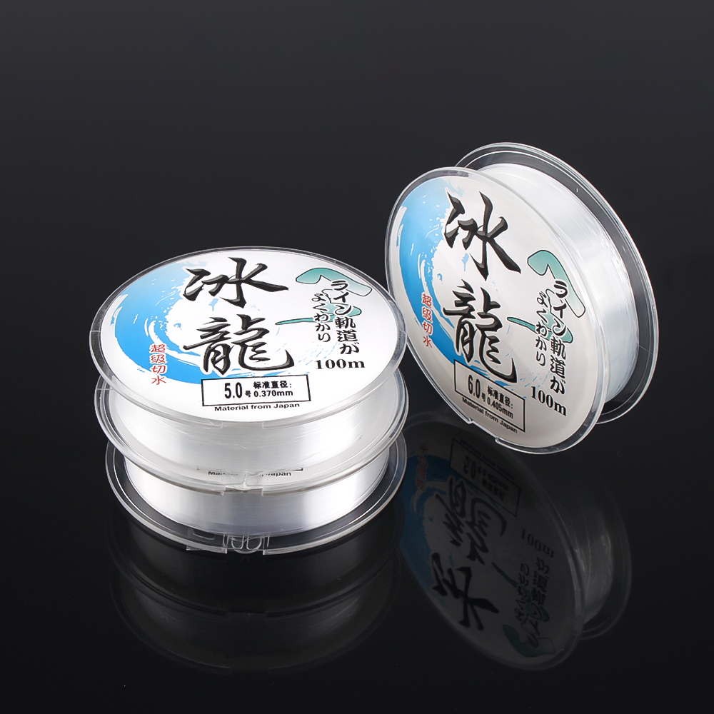 100M Nylon Fishing Line Super Strong Monofilament 2-35LB Quality Japanese Material For Saltwater Carp Fishing