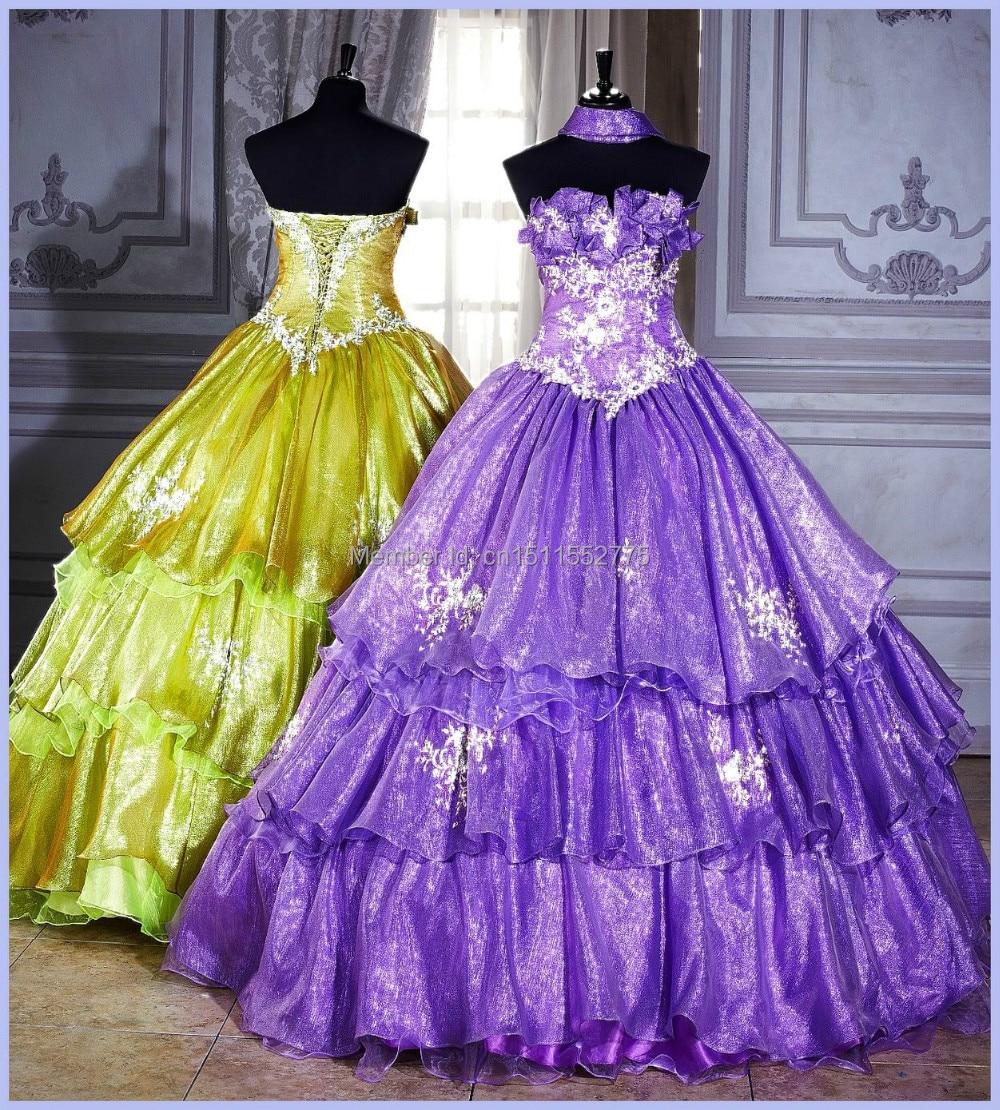 Beautiful My Big Fat Gypsy Wedding Dress Custom Made*-in Wedding ...