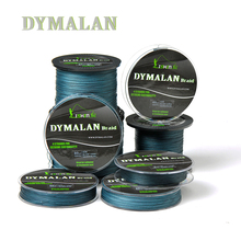 Dymalan PE Braided 100M 300M 500M 1000MFishing Line Multifilament Four Strands Wire Carp Fishing Traces For Saltwater 8LB – 80LB