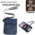 Móviles bolsa de Bloqueo RFID tarjeta bancaria caja de tarjeta de banco bolso Anti-escaneo RFID guardián secreto funda de protección caja del teléfono