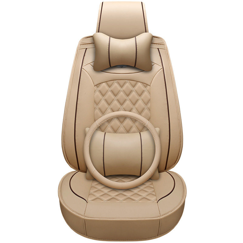New Luxury Quality PU Leather universal Auto Car Seat Covers for Mercedes Benz c200 w212 A180