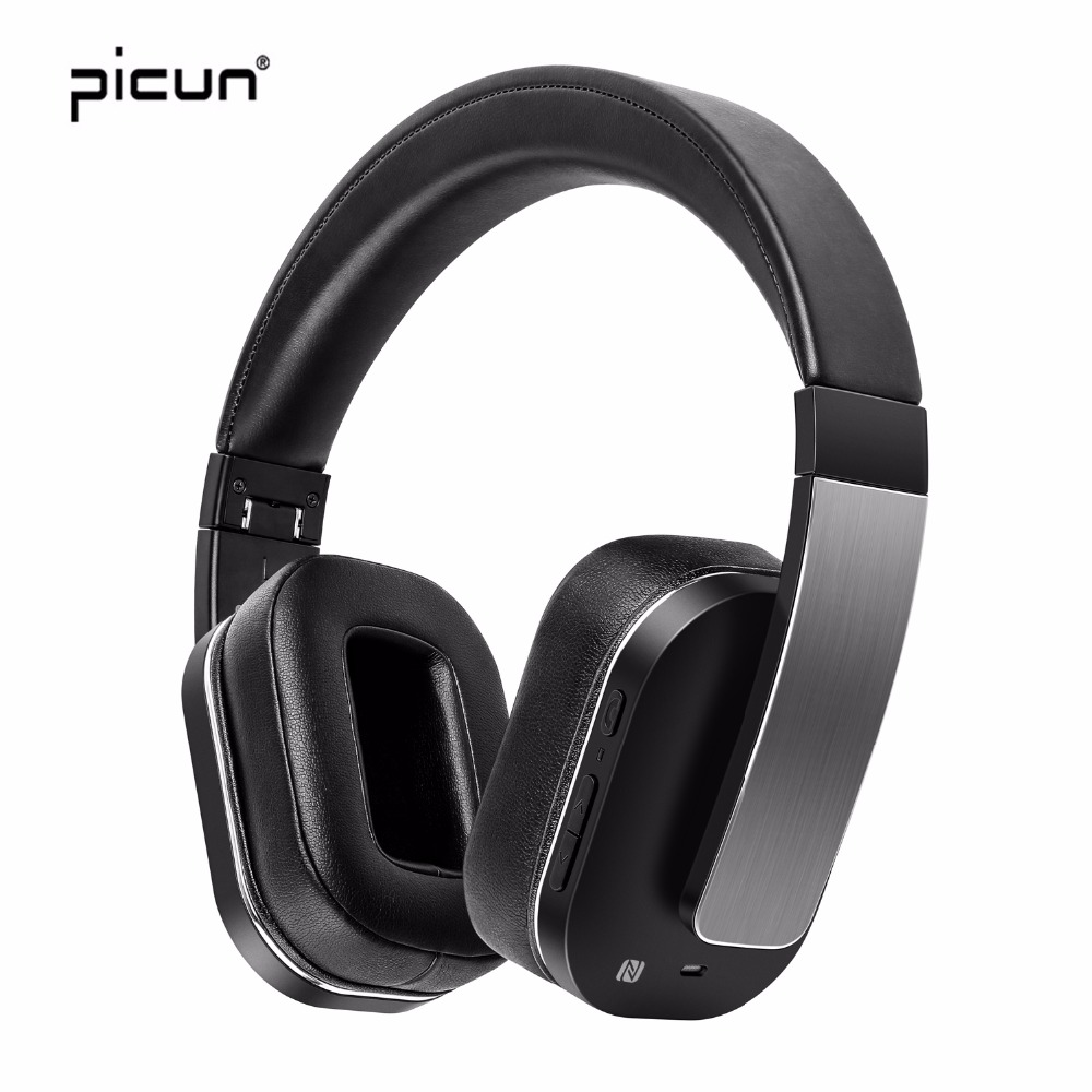 Picun F9 wireless headphones bluetooth Gaming Headset Noise Cancelling With Mic Musi For Iphone For Xiaomi For Sony pc laptop oneodio professional studio headphones dj stereo headphones studio monitor gaming headset 3 5mm 6 3mm cable for xiaomi phones pc